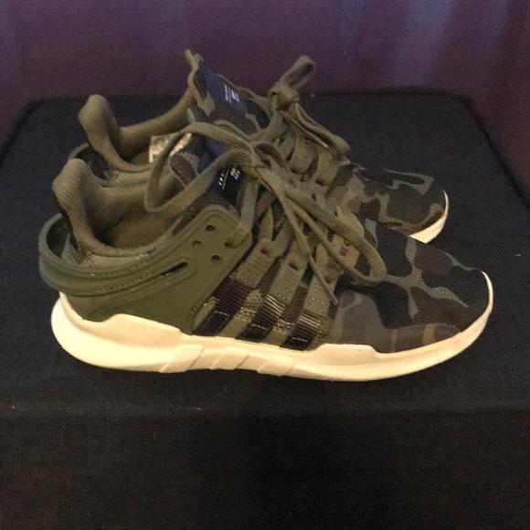 Army Fatigue Boys Adidas Eqt Size
